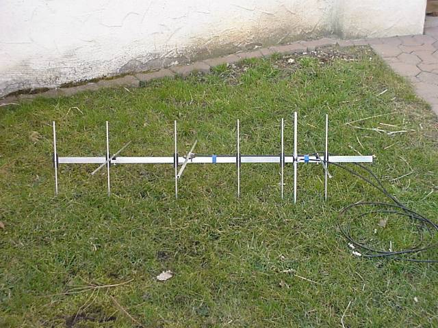 A Mode J/B yagi antenna
